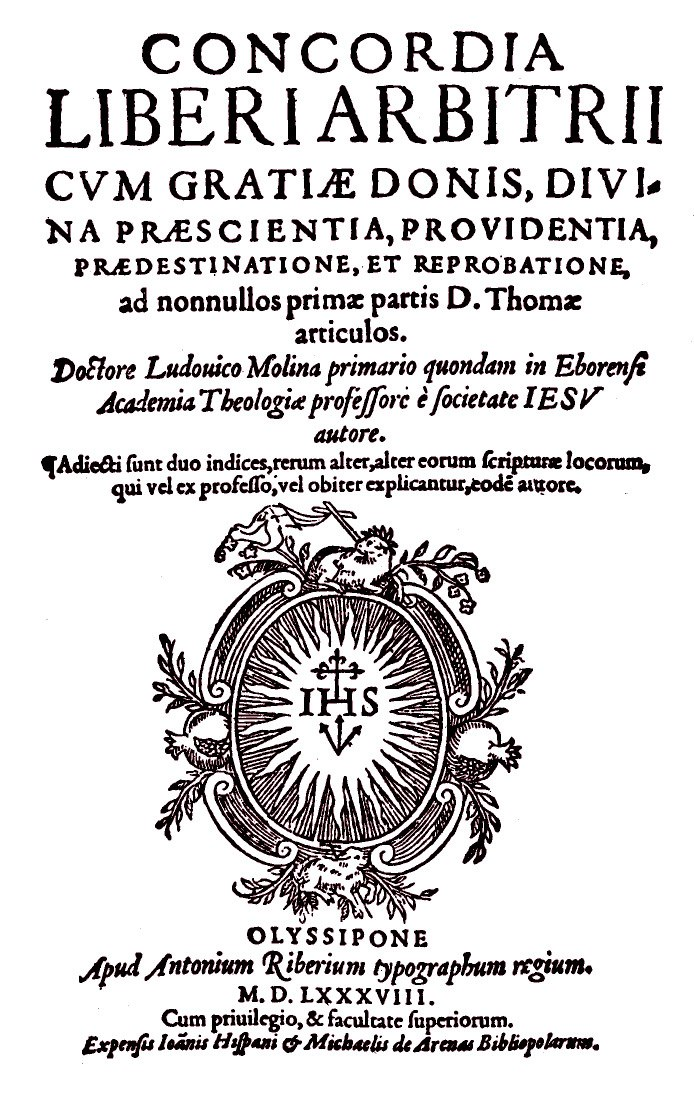 "Segunda edición de la ""Concordia"" de Molina, en Amberes, 1592."