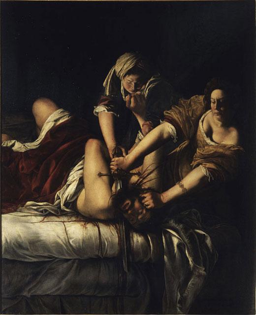 Artemisia: Judit mata a Holofernes